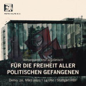 Konsequent und solidarisch: Für die Freiheit aller politischen Gefangenen!